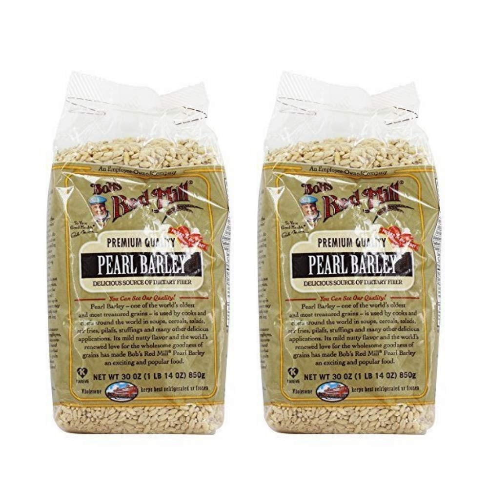 Bobs Red Mill Pearl Barley 30 oz (1 lb 14 oz), Delicious Source of Dietary Fiber (Pack of 2)
