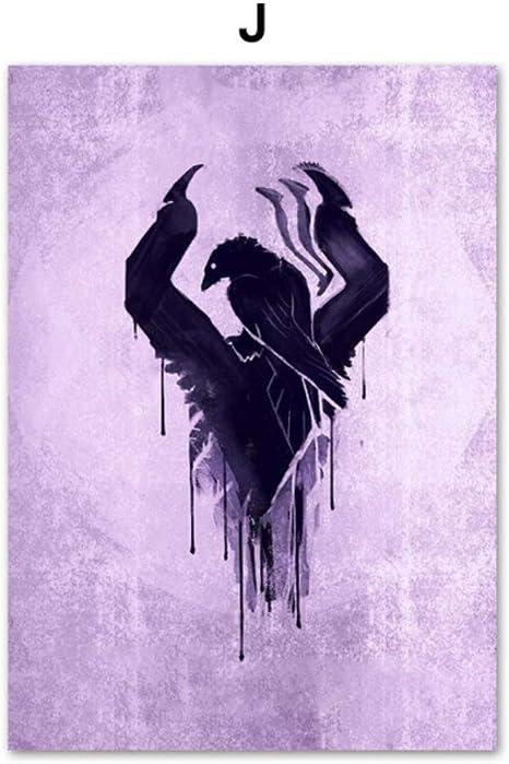 Bloodborne Dark Souls Videojuego Cartel Arte de la Pared Pintura ...