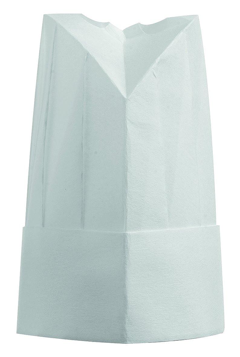 Cappello Cuoco Chef h. 25cm TNT 80gsm (conf. 10pz) J800001