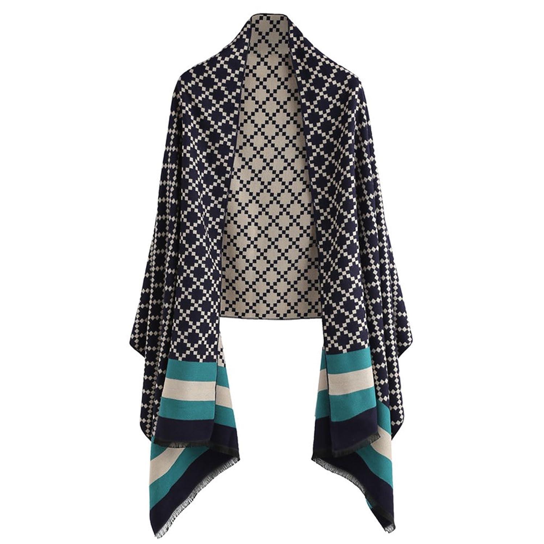 Women's Striped Scarf Shawl,Shilanmei Fashion Soft Cashmere Feel Winter Scarf