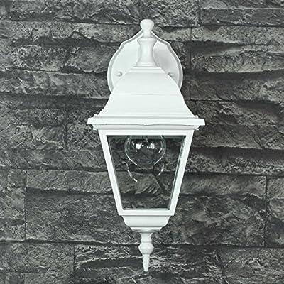 Wandlampe Rustikalweißled Geeignet Ip44 1x E27 Bis 60w 230v