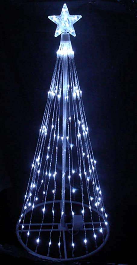 Amazon.com: LB International 6' Pure White LED Light Show Cone ...