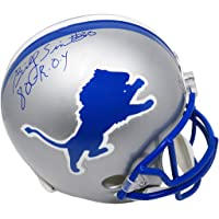 $177 » Billy Sims Signed Detroit Lions Throwback Riddell Full Size Replica Helmet w/80 ROY