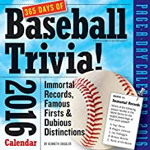 365 Days of Baseball Trivia! Page-A-Day Calendar 2016