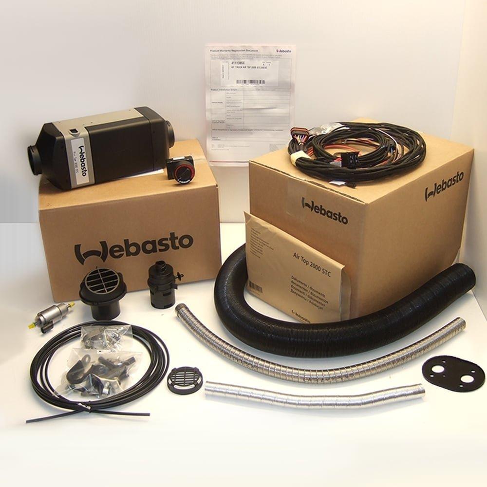 Webasto Gasoline 12v Air top Heater 2000 STC- full install kit | 9032227A by Webasto