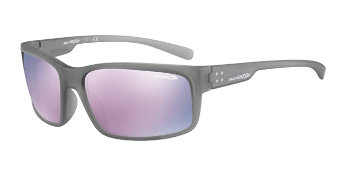 Arnette Fastball 2.0, Gafas de Sol para Hombre, Gris (Matte Transparent Grey)