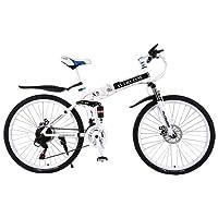 Altruism Vélo VTT en Acier 26 Pouces pour Homme et Femme avec Frein à Disque Avant et arrière.