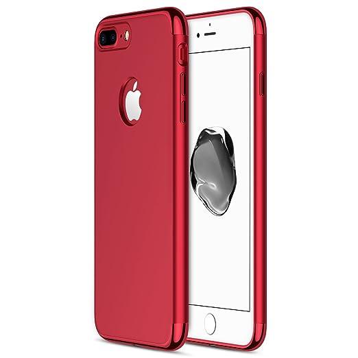 21 opinioni per Custodia per iPhone 7 Plus, RANVOO in 3 parti in stile extra sottile e rigida