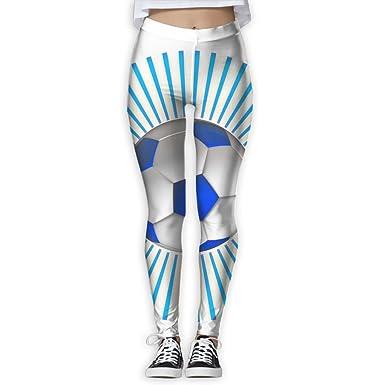 Amazon Com Wjm Show Women S Football Sport Color Blue Leggings Yoga