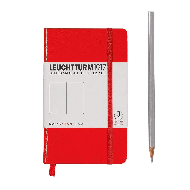 colore nero A righe talpa con 185/pagine a righe Leuchtturm 1917/Taccuino portatile in formato A6