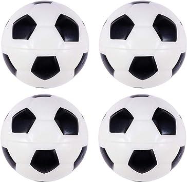 Amosfun 8 Unids Pelota de fútbol de LA PU Mini Deporte Suave ...