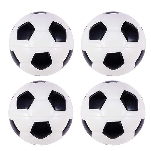 Amosfun Pelotas de fútbol Espuma para Deportes, Juguete para niños ...