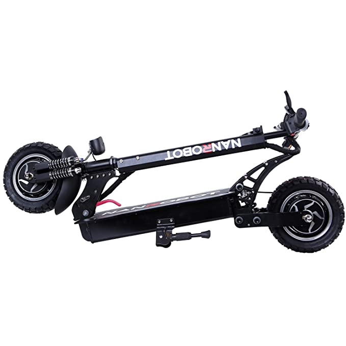 Amazon.com: NANROBOT D4+Scooter eléctrico de alta velocidad ...