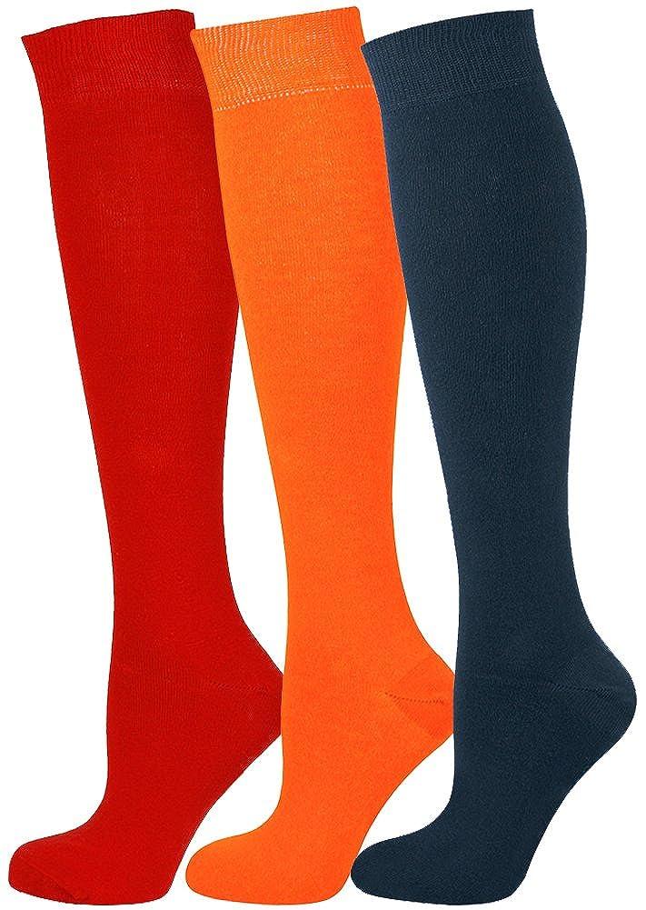 1da8ea596 Mysocks 3 Pairs Unisex Knee High Socks at Amazon Men s Clothing store