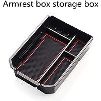 Customized for Toyota RAV4 2014-2019 Center Console Organizer Tray Insert ABS Armrest Storage Box Holder with Anti-Slip…