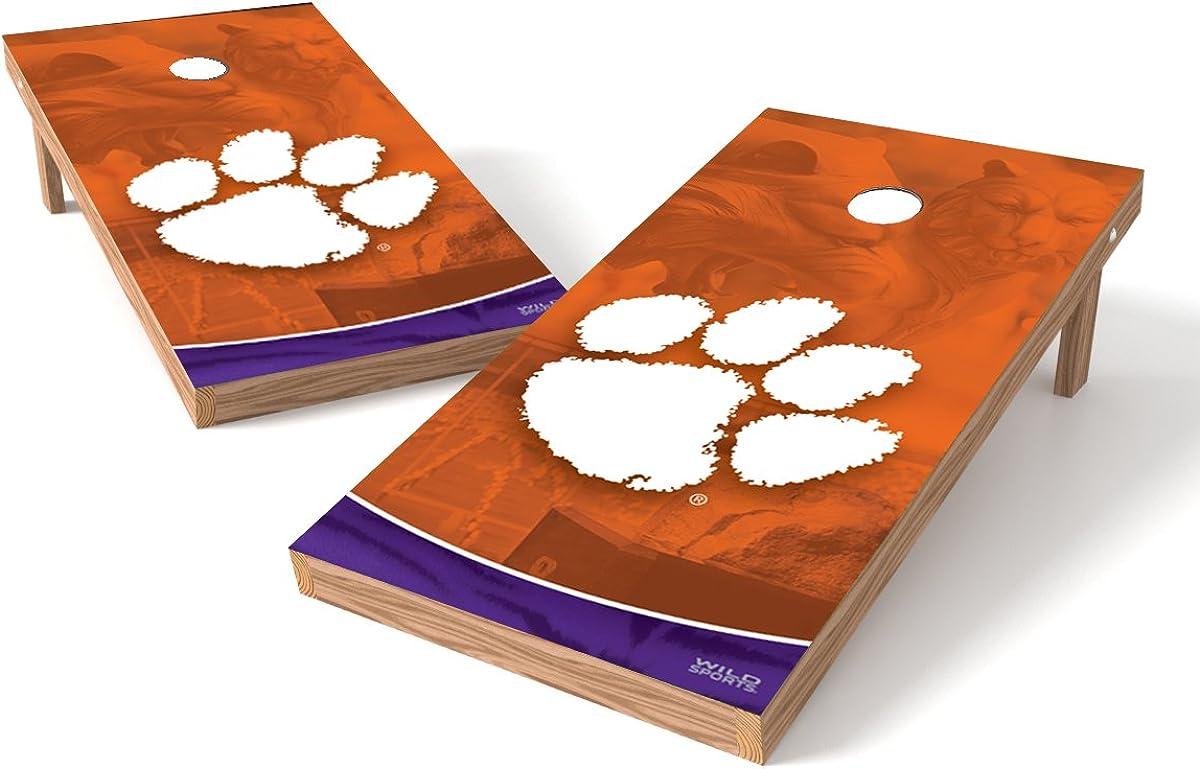 Recreational Series 2 x 3 Foot Wild Sports NCAA Cornhole Outdoor Game Set