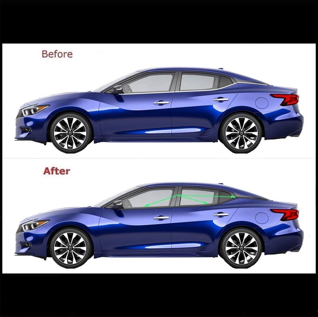 Carbon Fiber Side Door Handle Covers Trims For 2016-2019 Nissan Maxima Sedan