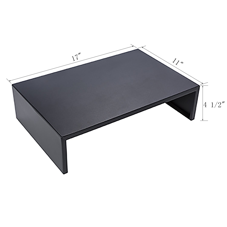 DESIGNA Metal Monitor Stand,Black