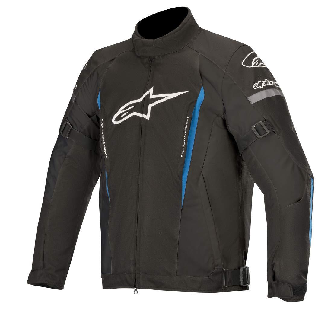 Motorcycle jackets Alpinestars Gunner V2 Wp Jacket Black Bright Blue Black//Blue XL