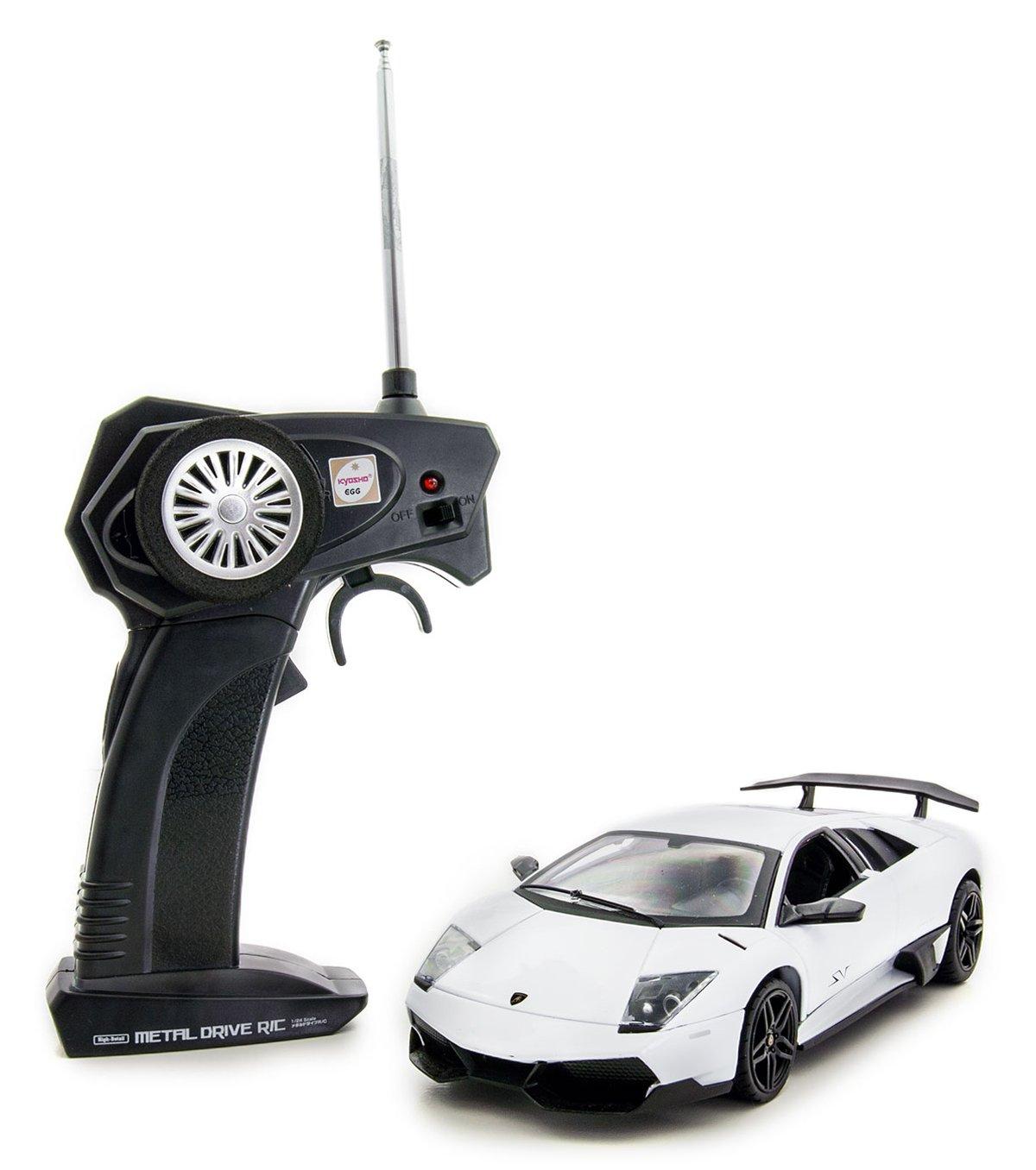 Lamborghini Murcielago RC metal drive (Super bianca) (RC Model) (japan import)