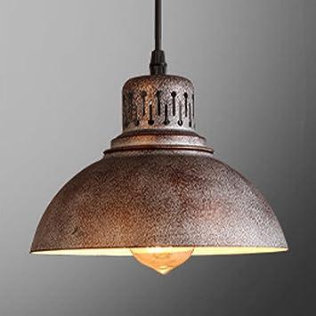 Luz de techo industrial, SUN RUN Lámpara creativa de luz retro ...