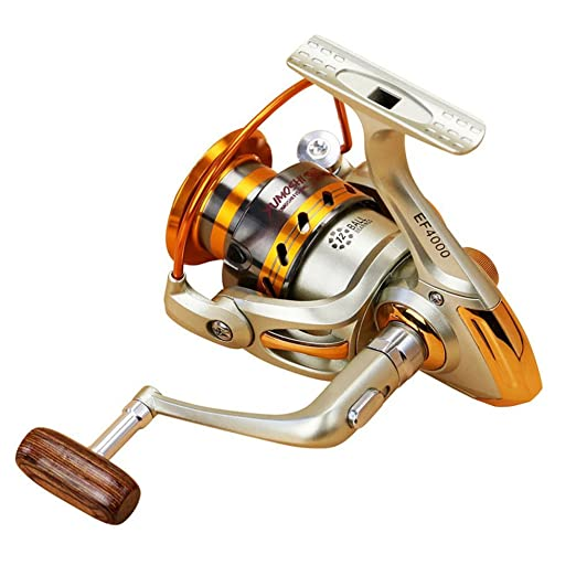 12BB Spinning Fishing Reel EF500-EF9000 Removable Arm Left Right Metal Spool