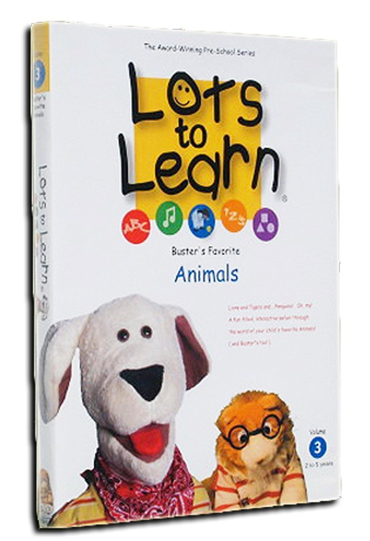 Lots To Learn Preschool Videos: Buster's Favorite Animals by Lots To Learn, LLC