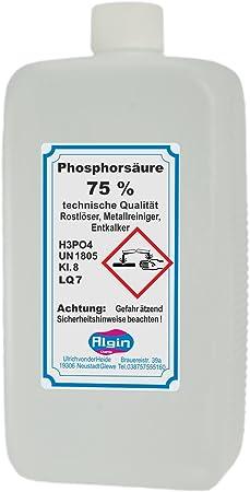 Phosphorsäure 75 1 Liter Baumarkt
