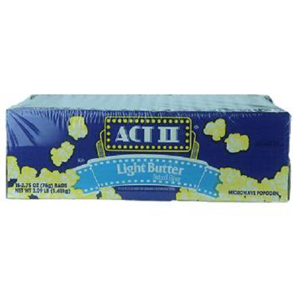 Product Of Act Ii, Popcorn Light Butter, Count 18 (2.75 oz) - Popcorn/Grab Varieties & Flavors
