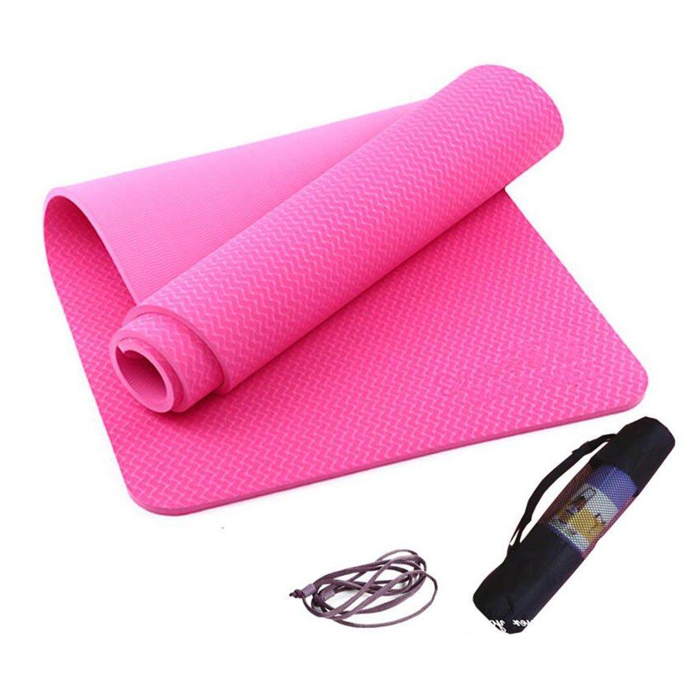 Anti-Rutsch-Yoga-Matte --- TPE Umwelt Tasteless Yoga-Matte Bewegung Der Sport-Pad, Drei Farben sind vorhanden --- Naturkautschuk Yoga-Matte, für Training   Pila