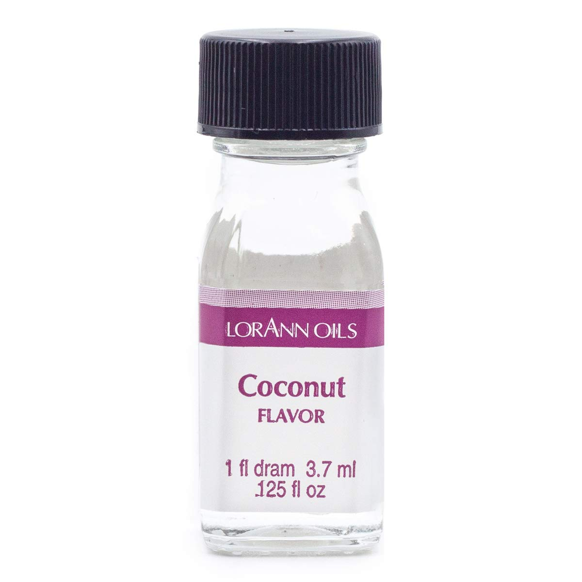 LorAnn Coconut Super Strength Flavor, 1 dram bottle (.0125 fl oz - 3.7ml)