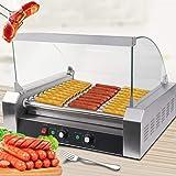 Safstar Commercial 30 Hot Dog 11 Roller Machine