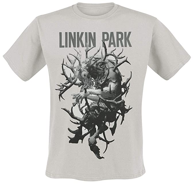 39df8c32 Linkin Park Antlers Tour T-Shirt White: Amazon.co.uk: Clothing