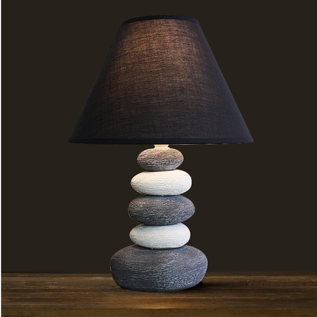 Lampada da tavolo da camera Nordic Table Lamp Camera creativo Lampada da comodino americano ceramica semplice lampada di moda moderna caldo sveglio caldo Lampada da comodino lampada a LED