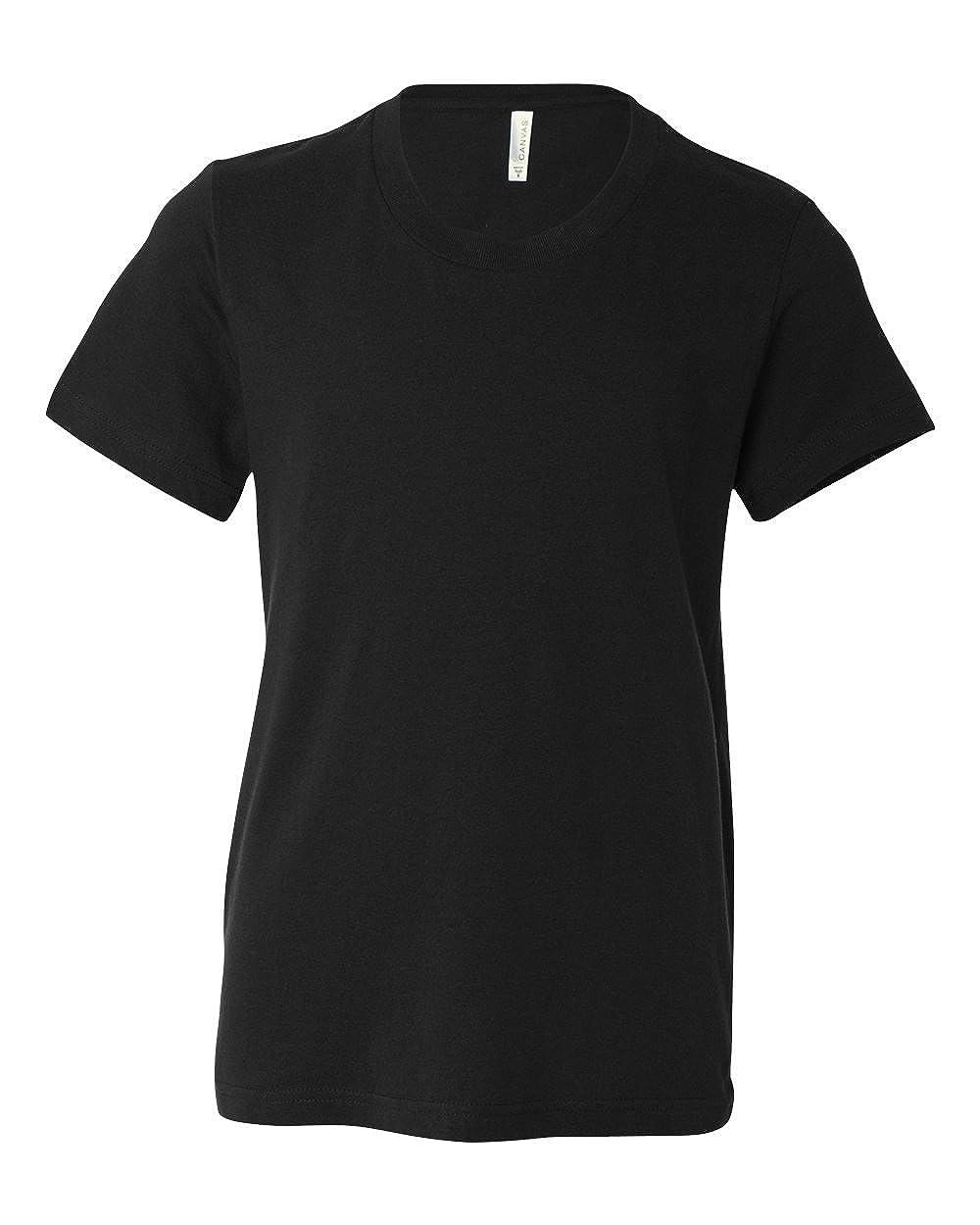 Bella Canvas Boys Youth Jersey Short-Sleeve T-Shirt