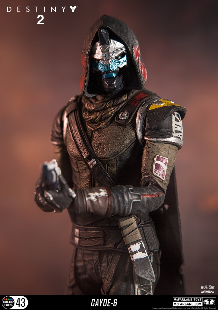 McFarlane Toys 13040-9 Destiny 2 Cayde 6 Collectible Action Figure by McFarlane Toys (Image #4)