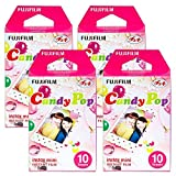 Fujifilm Instax Candy Pop Instant Film 4 Pack For Mini 8 Cameras 40 Sheets