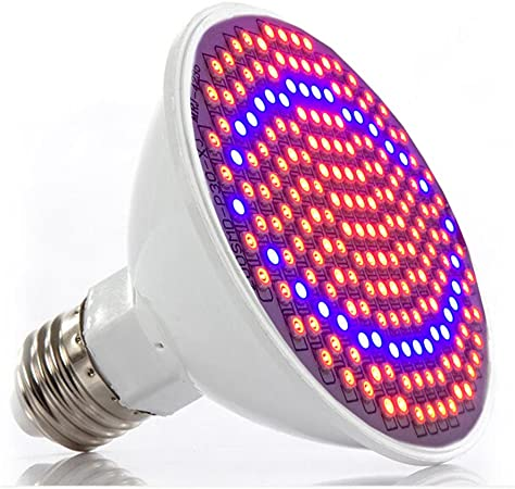36W E27 12 LED Red Blue Flower Plant Grow Light Bulb indoor seed Lamp Hydroponic