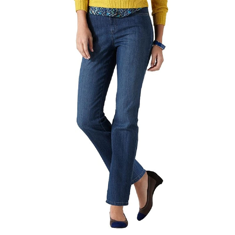 Gloria Vanderbilt Amanda Tapered Jeans, Phoenix Wash, 4 Short