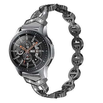 Amazon.com: SHUDAGE Circle Openwork Smartwatch Bling Band ...
