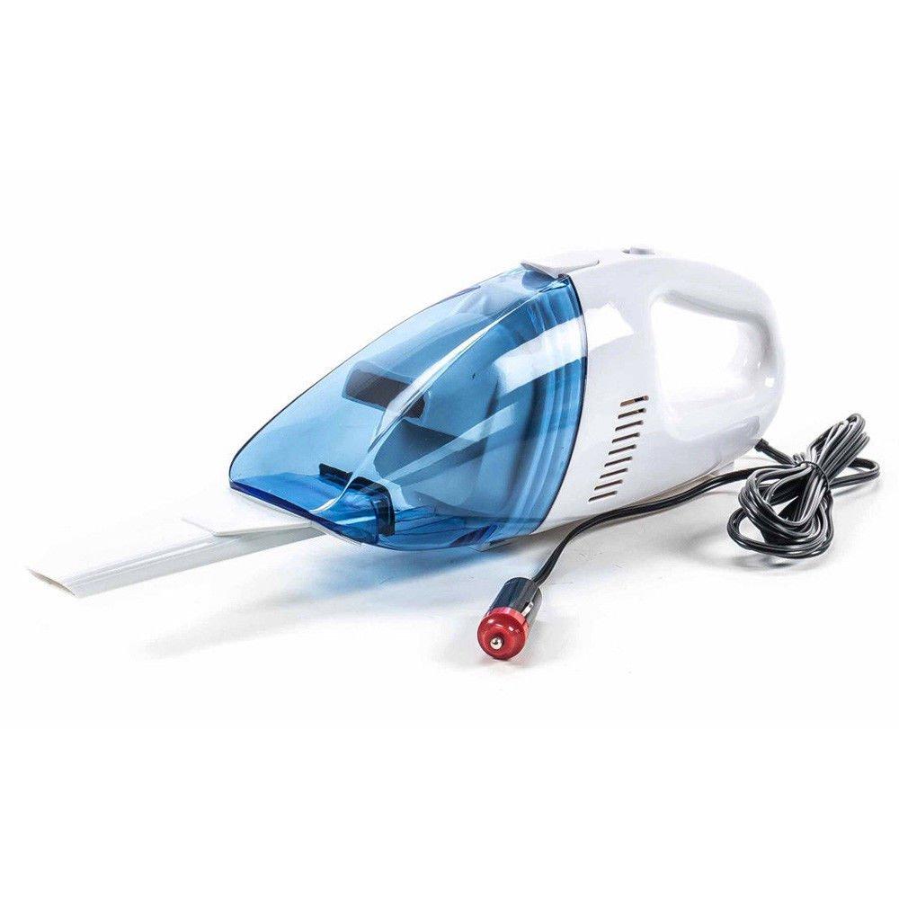 Bakaji Aspirapolvere Portatile per Auto 12V con extra ugello sottile e Cavo di alimentazione lungo 3 mt