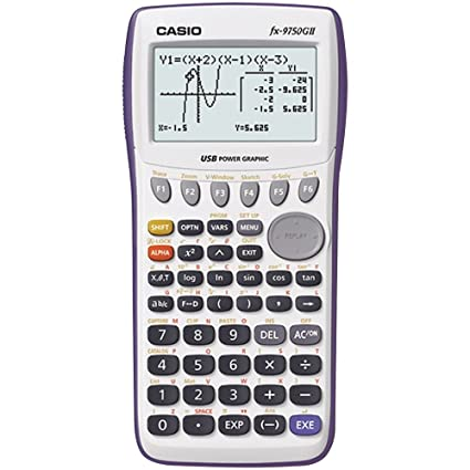 Basic math using a casio fx-9750gii calculator youtube.