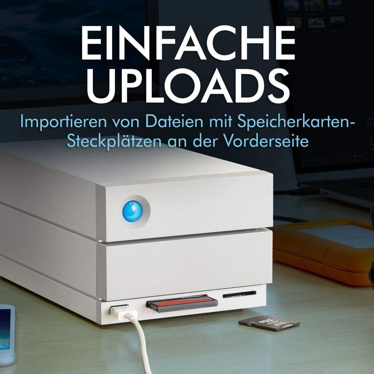 Lacie 2big Dock Thunderbolt 3 External Hard Drive 12tb Computers Accessories