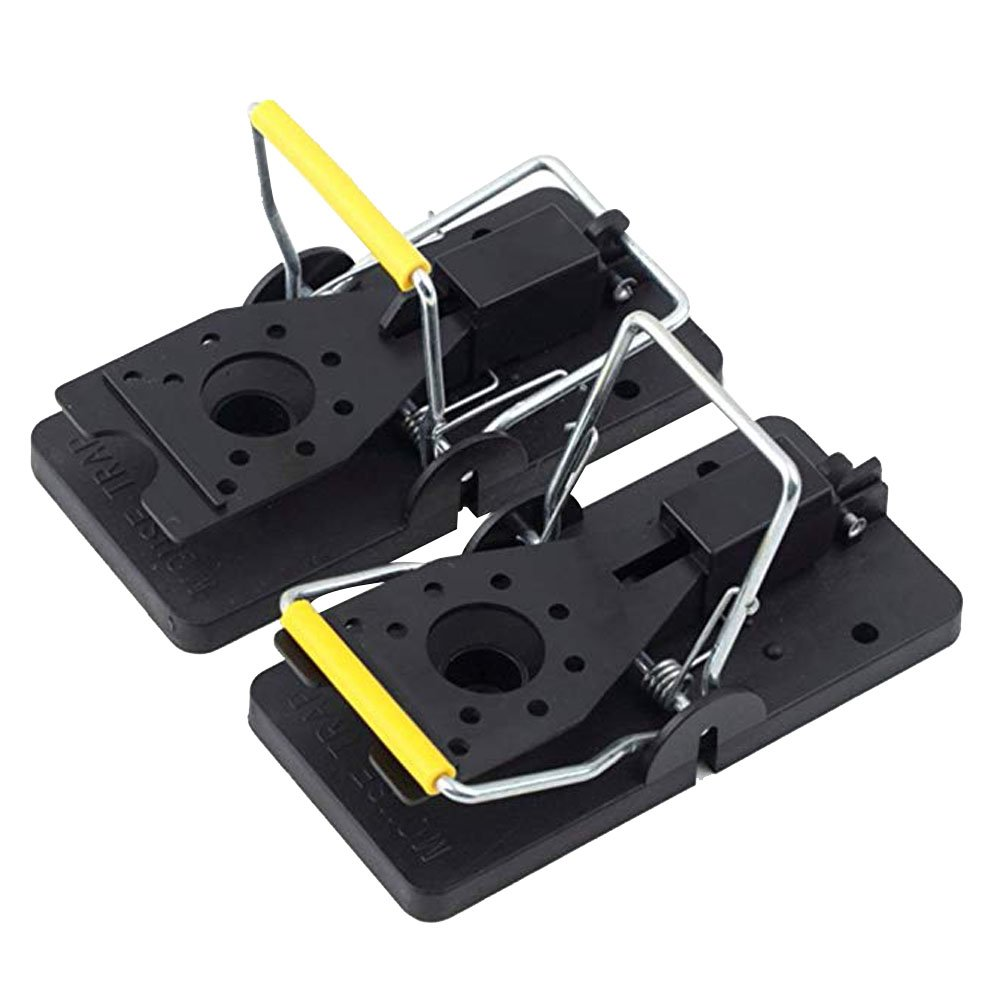 ShiningLove Mouse Trap, 6pcs Professional Rat Catcher and Killer, Trap That Work Indoor or Outdoor, Reusable, Durable and Sanitary