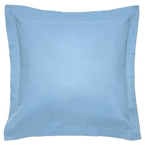 Sancarlos - Combicolor Funda de cojin, 60x60 cm, color azul