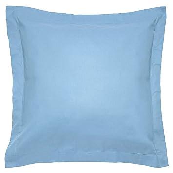Sancarlos - Combicolor Funda de cojin, 60x60 cm, color azul: Amazon.es: Hogar