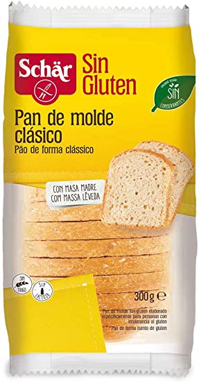 Dr. Schar Pan de Molde Clásico sin Gluten, 300g: Amazon.es ...