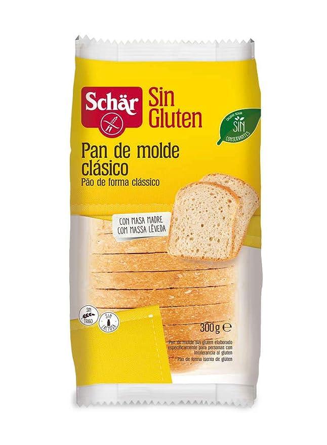 Dr. Schar Pan de molde clásico SIN GLUTEN - 300 gr: Amazon.es ...