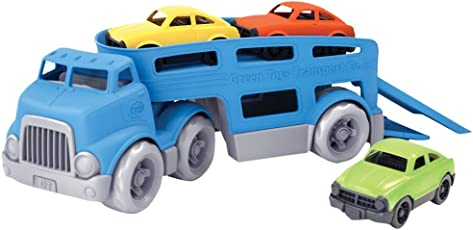 Green Toys Car Carrier Vehicle Set Toy, Blue