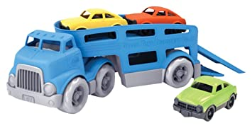 carrier toy. green toys car carrier vehicle set toy, blue toy